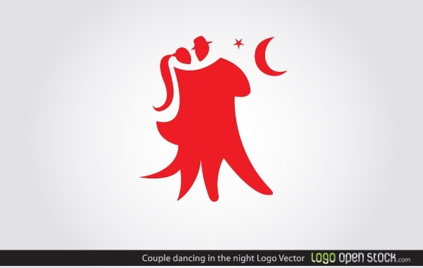 Free Couple Dancing Logo
