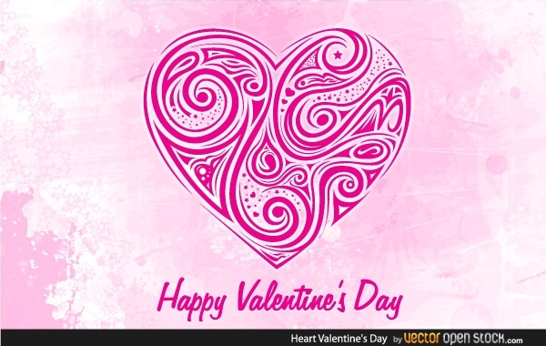 Free Vectors: Hearts Valentines Day | Vector Open Stock