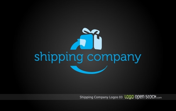 Free Shipping Company Logo 03