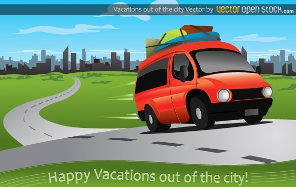 Free Vacations out of the city