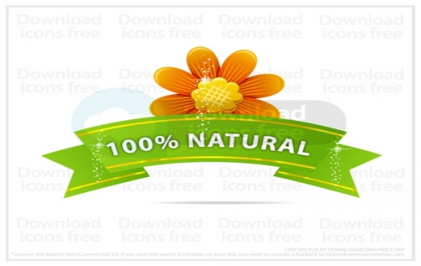 Free Nature vector flower sign free