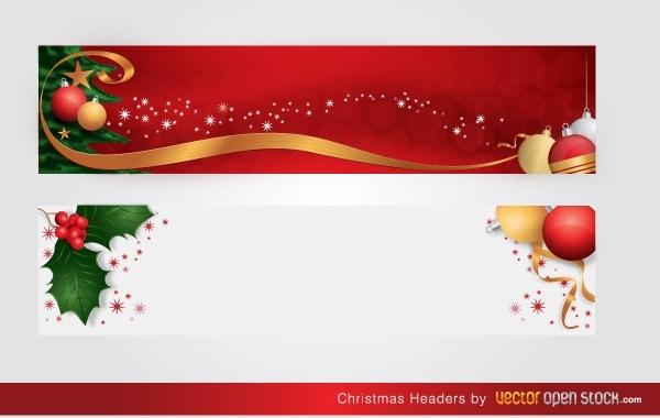 Free Christmas Headers