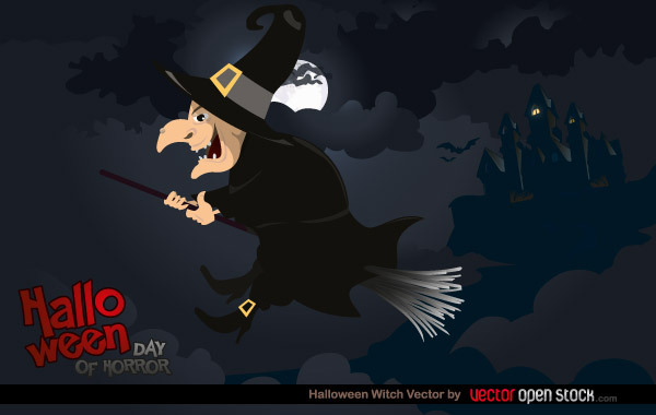 Free Halloween Witch