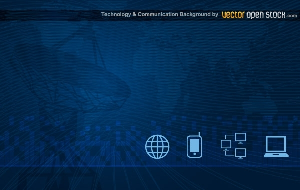 Free Technology and Communication Background