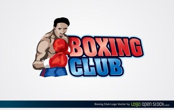 Free Vectors: Boxing Club Logo | Logo Open Stock