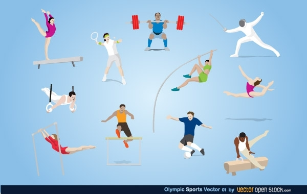 Free Vectors: Olympic Sports Vector | Vector Open Stock