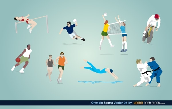 Free Olympic Sports Vector 02