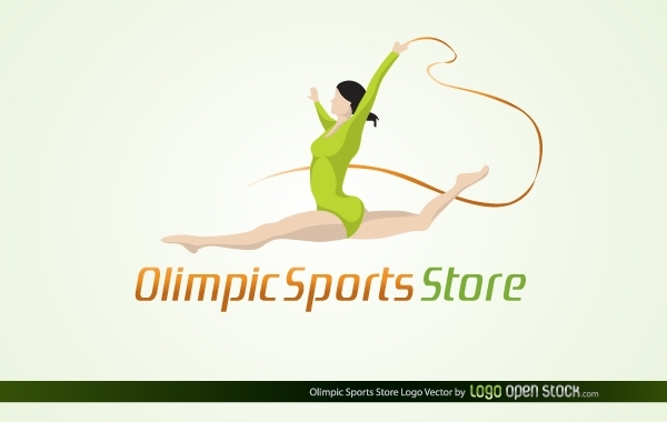 Free Vectors: Olympic Sports Store | Logo Open Stock