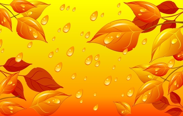 Free Autumn Leaves Vector Illustration