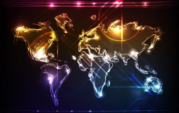 Free Cool World Map
