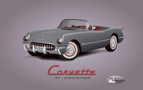 Free 1953 Corvette Background