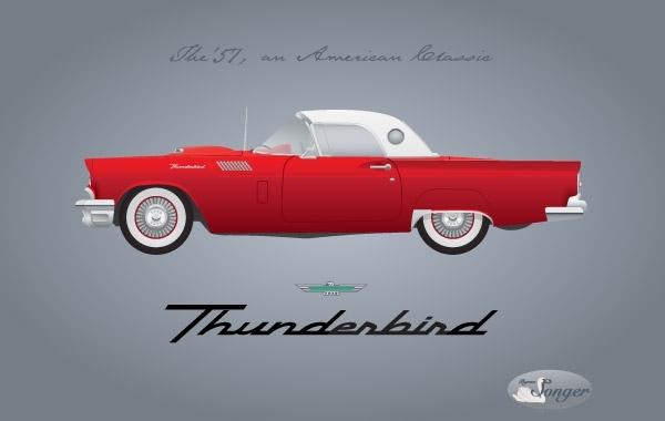 Free 1957 Thunderbird