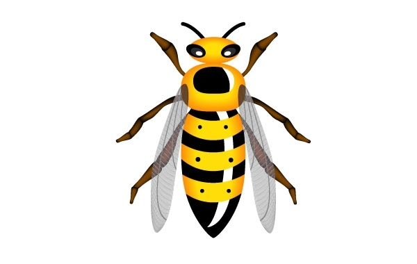 Free Vectors: Vector wasp | Great