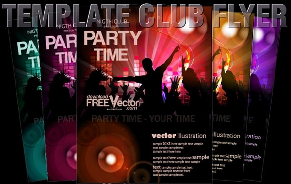 Free Vector Template Flyer