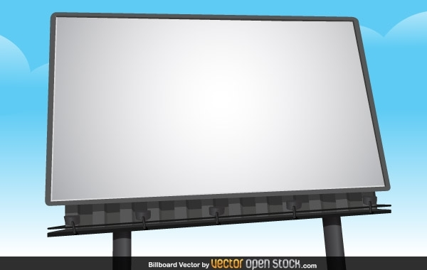 Free Billboard Vector