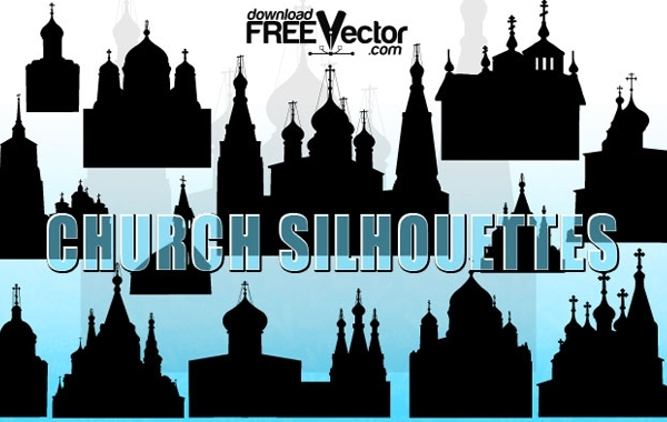 Free Vectors: Vector Christian Church | Holidays | marina