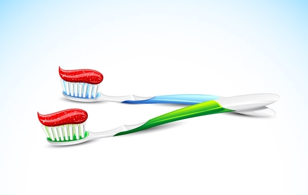 Free Toothbrush Vector