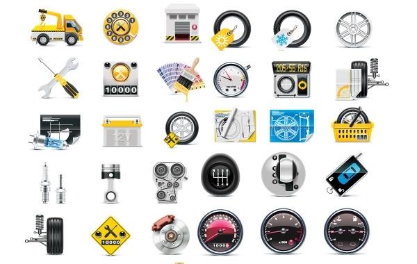 Free Free Meter tire tool icon