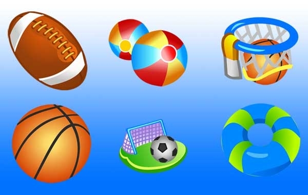 Free Free Vector Sport Icons