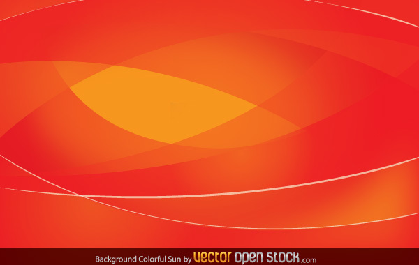 Free Colorful Sun Background