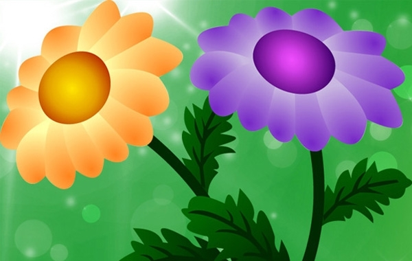 Free Free Vector Chrysanthemum