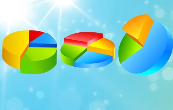 Free Free Vector pie charts 2