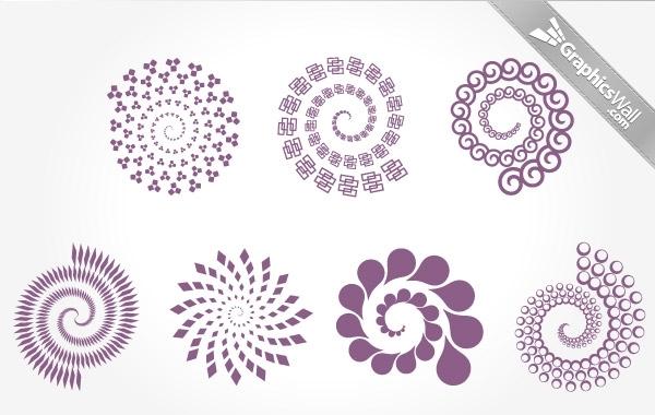 Free 7 Spirals
