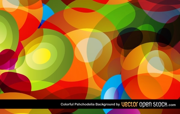 Free Colorful Psychodelia Background