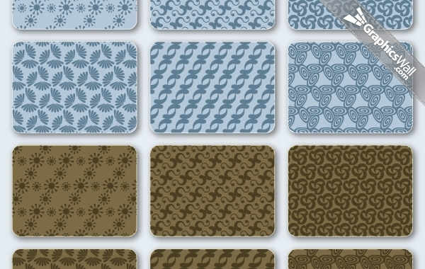 Free Free Vector Patterns Set 03