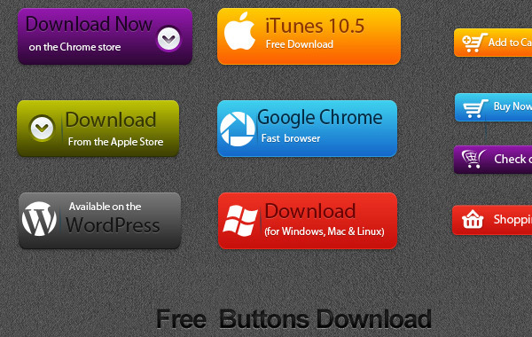 Free Free Vector Button Download