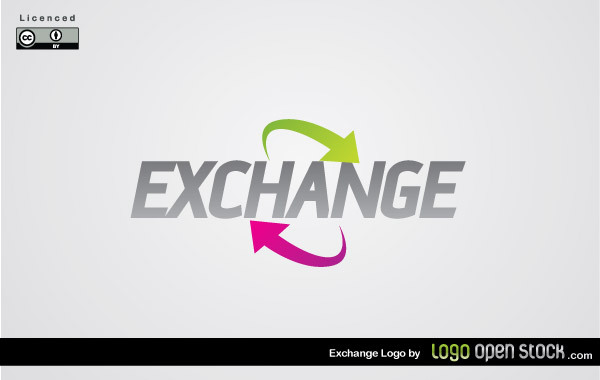 Free Vectors: Exchange Logo | Logo Open Stock