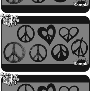 Free Peace Sign Vector Graphics
