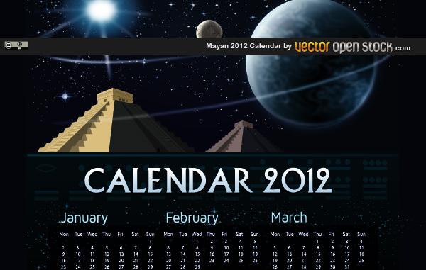 Free Mayan 2012 Calendar
