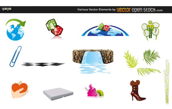 Free Various Vector Elements