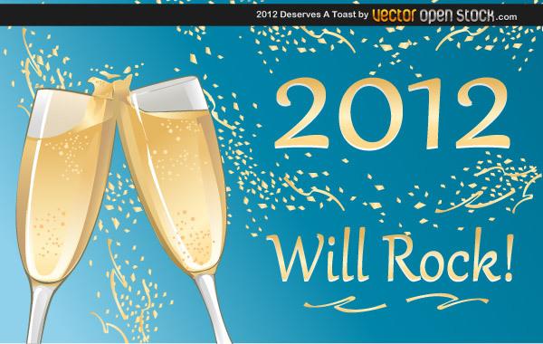 Free 2012 Deserves a toast