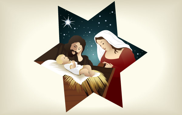 Free Vectors: Christmas Nativity Scene 4 | anonymous