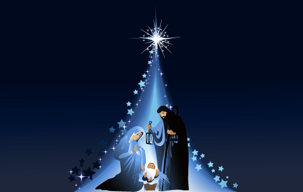 Free Christmas Nativity Scene 5