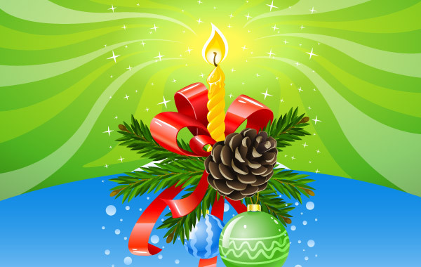 Free Christmas Composition