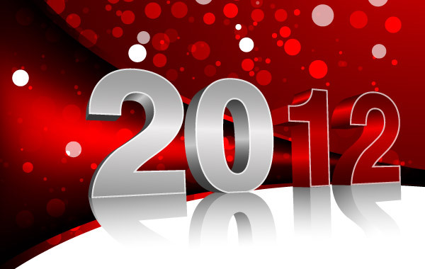 Free Vector New Year Design
