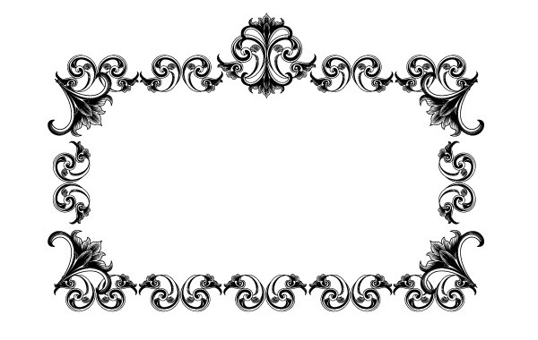 Free Victorian Style Frame