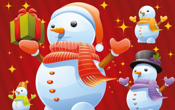Free Free Snowman Vectors