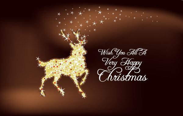 Free Christmas Deer