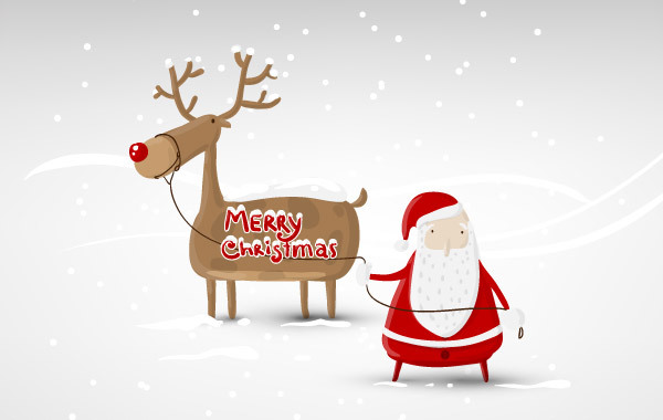 Free Santa Claus Vector Design