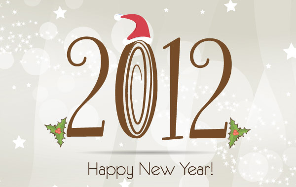 Free New Year 2012 Template