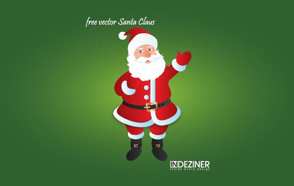 Free Free Vector Santa Claus