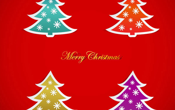 Free Christmas Tree Vector Graphics