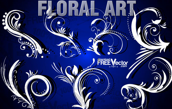 Free Free Floral Clip Art