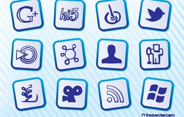Free Free Social Media Icons