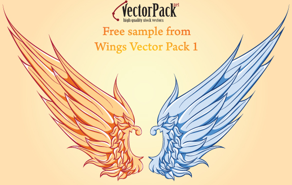 Free Free Wing Vector Sample