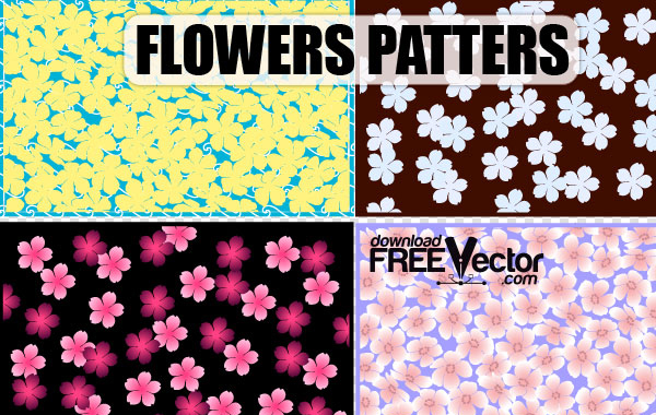 Free Free Art Vector Flowers Patterns